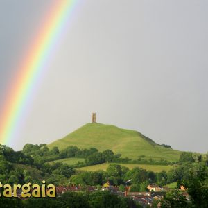 Stargaia Rainbow Glastonbury Tor